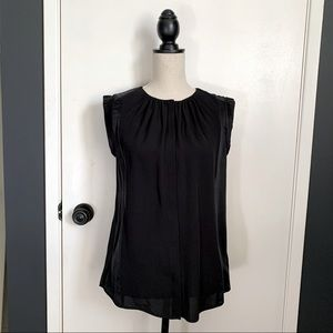 Halston Heritage Medium Top Black Sleeveless